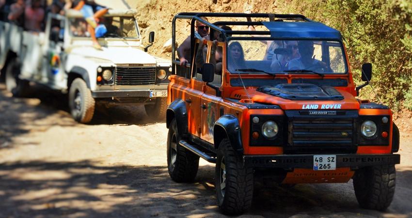 İçmeler Jeep Safari Turu
