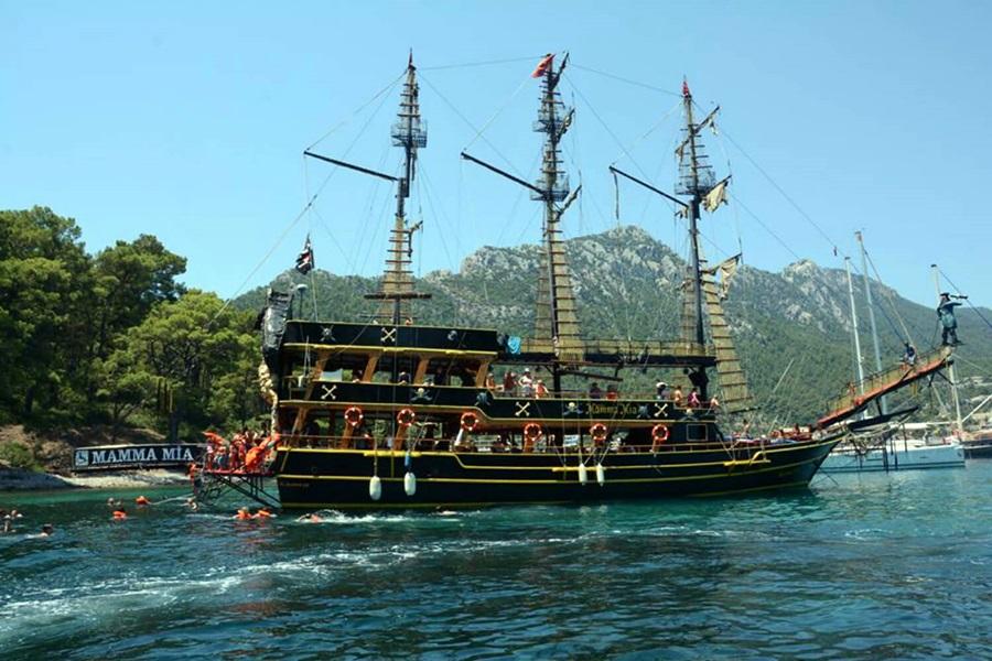 İçmeler Korsan Gemi Turu